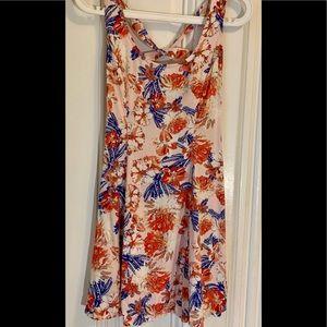 Forever 21 floral back-tie dress